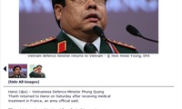 German news agency apologizes to Vietnam defense minister for false death report