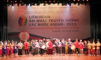 ASEAN traditional music festival kicks off in Thanh Hoa province