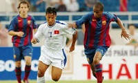 Five famous football teams visit Vietnam