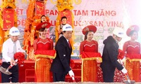 Construction begins at Tam Thang industrial zone