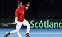 Andy Murray to play Jo-Wilfried Tsonga first in Davis Cup quarter-final