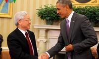 Vietnamese people embrace Vietnam-US friendly relations