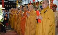 Buddhist requiem for traffic crash victims