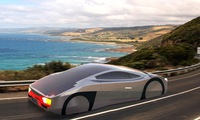 The world's first solar-powered sports car could drive forever