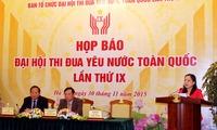 9th National Patriotic Emulation Congress opens in Hanoi