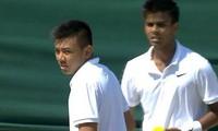 Ly Hoang Nam into boys doubles semi-final at Wimbledon