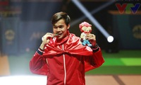 Fencing brings first gold to Vietnam at 28th SEA Games