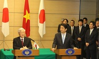 Cooperation agreements with Japan