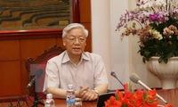 Party leader Nguyen Phu Trong begins Japan visit
