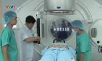 Hue Central Hospital applies new technique treating small tumours