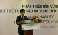 Conference promotes sustainable development