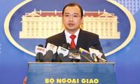 Taiwan - China urged to stop violation of Vietnam's sovereignty