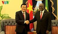 Vietnam and Tanzania to boost ties