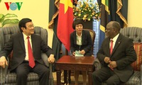 State President holds talks with Tanzanian President