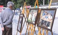 Hanoi paintings exhibition on Vietnam heritage day