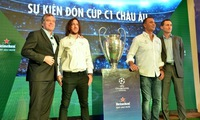 Champion League Trophy tour begins in Vietnam