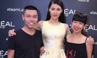 Lan Khue introduces members of The Face
