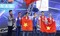 Lac Hong University wins Robocon Vietnam 2016