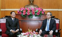Strengthened co-operation with Laos