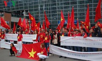 Vietnamese in Korea launch peaceful protest against China's military buildup