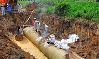 Government deals with consequences of pipeline breakage