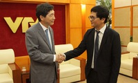 President of VTV received a courtesy visit by Ambassador of the Republic of Korea to Vietnam