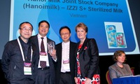 Hanoimilk wins food industry award