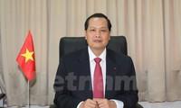 Ambassador to Singapore speaks