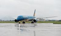 Typhoon roke affects flight plans