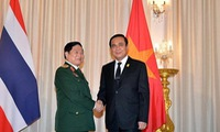 Strengthened defence ties with Thailand