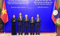 Vietnamese leaders given Laos awards