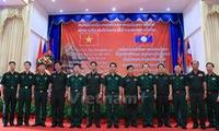 Lao military students remember Vietnamese teachers