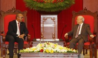 Party Chief receives outgoing Cuban Ambassador