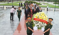 Tribute to fallen volunteers in Cambodia