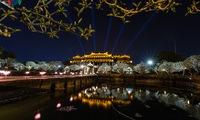 Hue Imperial Citadel opens at night