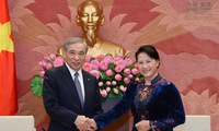 National Assembly Chairwoman receives Japan's Gunma Governor