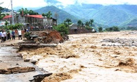 Dozens dead, missing in flash floods in the north