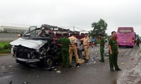 Bus collision kills six in Tây Ninh Province