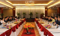 HCM City leaders highlight growing ties with Lao localities