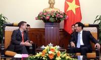 Deputy PM meets new French Ambassador
