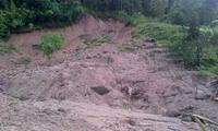 Servere landslides in Son La province