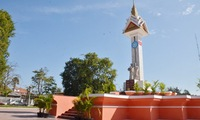 Cambodia - Vietnam friendship monument restored