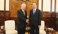President Tran Dai Quang receives outgoing Bulgarian Ambassador to Vietnam