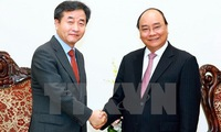 Prime Minister welcomes Yonhap President