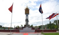 Cambodia-Vietnam friendship monument inaugurated