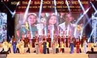 Vietnam's Bai Choi art receives UNESCO heritage certificate