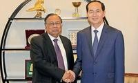 Vietnamese President Tran Dai Quang's activities in Bangladesh