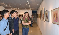 Watercolour paintings exhibition held in Ho Chi Minh City