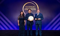 Nguyễn Công Chung proudly took home the Chef Hotelier of the Year for Asia