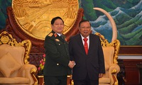 Reinforced defence ties with Laos